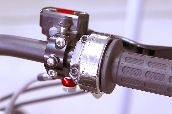 Gasgriff »Vintage« Zweizylinder 2-zügig