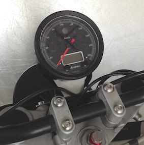 Tachohalter für Acewell/Koso/Daytona-Tacho aus Edelstahl für BMW R 80/100 R & Mystic
