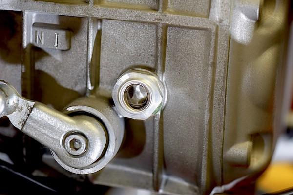Getriebe-Einfüllschraube mit Schauglas
