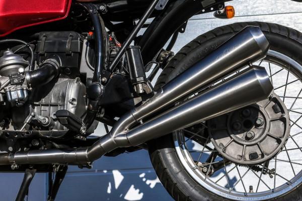 Auspuff-Endschalldämpfer »Gunball-Two« für BMW R 80/100 R, Mystic und R 80/100 GS