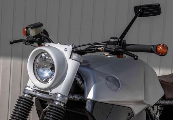 Lampenmaske »Retro« mit H4-Einsatz Klarglas für BMW K 75 und K 100-Modelle