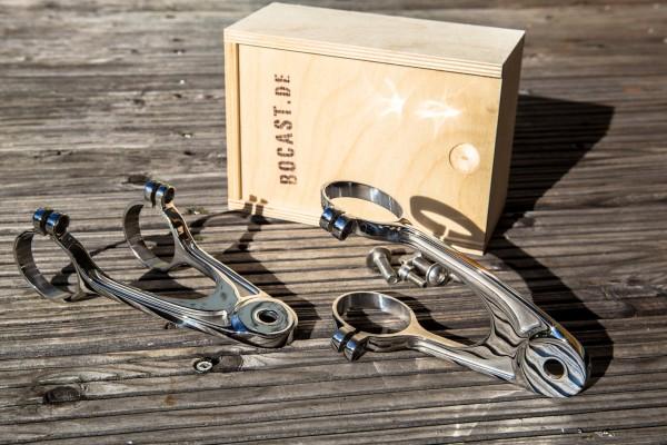 Lampenhalter Edelstahl-Feinguss für BMW-Boxer und K-Modelle 36-41 mm