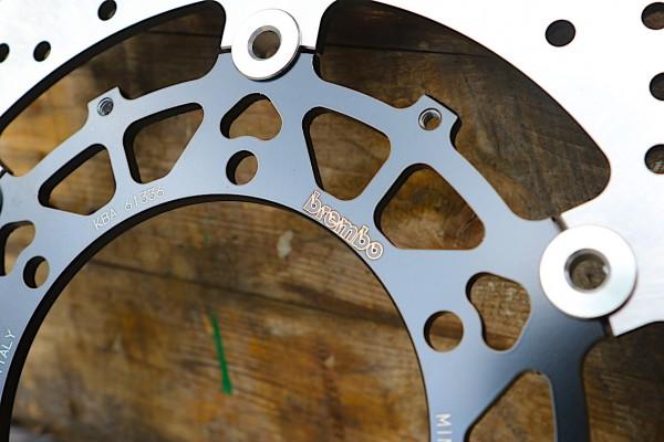 Bremsscheibe Brembo »Oro« schwimmend für BMW K 100 RS (16V) und K 1100-Modelle Vorderrad