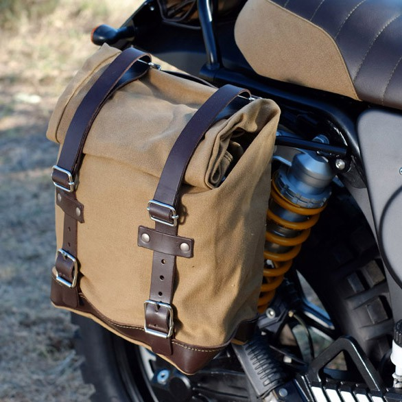 Seitentasche »Canvas« mit integriertem Klick-Fix Halter für Boxer und K-Modelle
