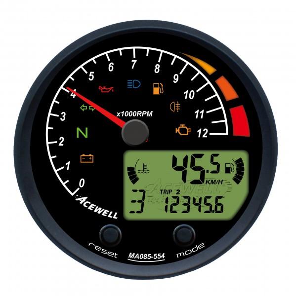 Tacho & Drehzahlmesser Acewell »MA 085« für BMW Zweiventiler und K-Modelle