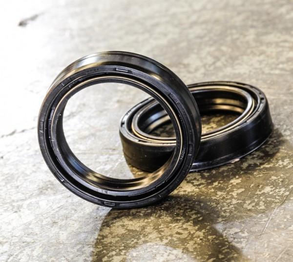 Gabel Simmerringe Satz 41,7 mm für BMW K 100 RS (4V), K 1100 RS & LT