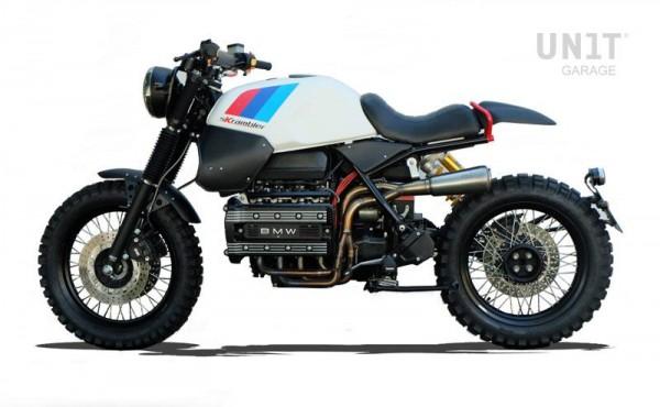 Auspuffanlage »Skrambler« für BMW K 100