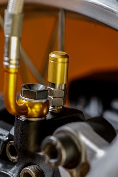 Kappen Alu eloxiert für Stahlbus Entlüftungsventil (Entlüfterschraube) in verschiedenen Farben