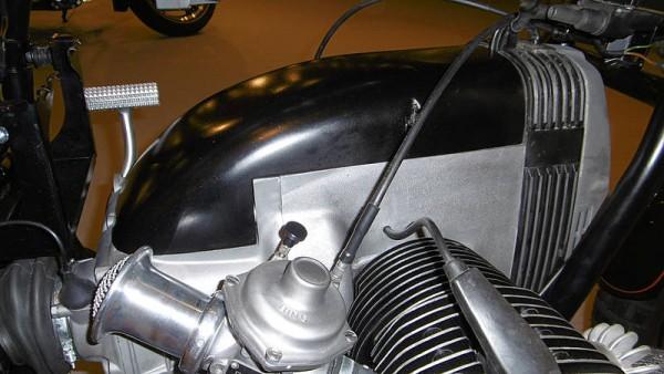 Anlasser-Cover Aluguss für 2V-Boxer