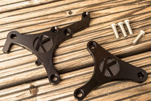 Fußrasten-Grundplatten gefräst für BMW K 75 und K 100 Modelle