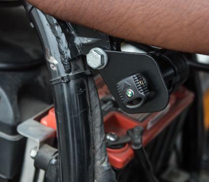 Halter Zündschloss »Original« für BMW R 80/100 R und R 80/100 GS Paralever-Modelle