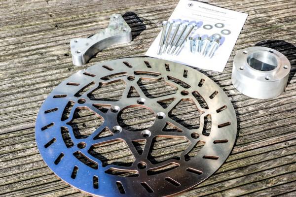Bremsscheiben-Kit 320 für R 80 G/S und R 80 ST