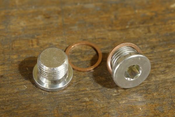 Sekundärluftsystem-Verschlussschrauben