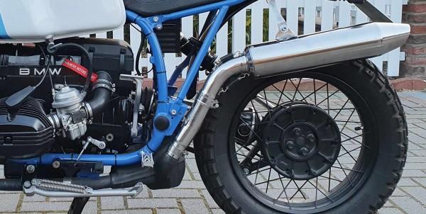 Auspuff-Endschalldämpfer »Vintacone« für BMW R 100 GS und R 100 R, Mystic