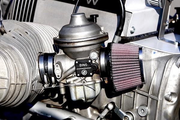 Sportluftfilter K&N oval für 40er Bing-Vergaser für BMW R 80/100 R und GS