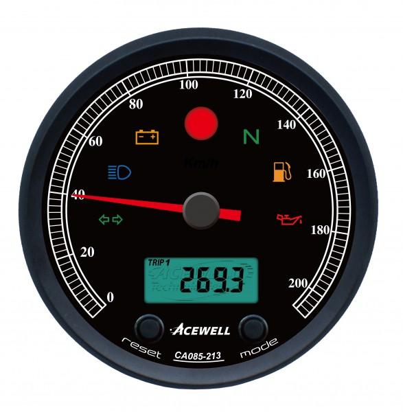Tacho Acewell CA 085 für BMW Zweiventiler und K-Baureihe
