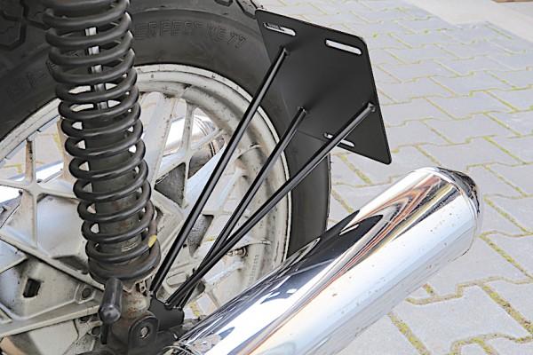 Kennzeichenträger »Side« für BMW R 45 und R 65 Twinshock-Modelle