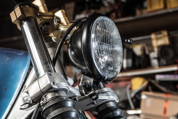 Scheinwerfer »Bates Style« plus Halter für BMW R 80 und R 100 GS