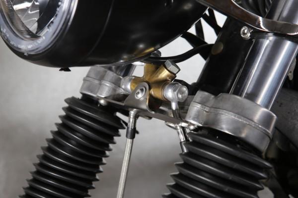 Halter Bremsverteiler für BMW R 45 und R 65