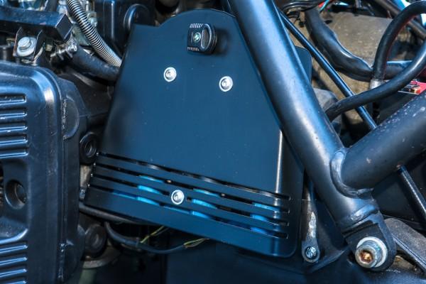 Cover Zündspule für BMW K 75-Modelle mit Aufnahme für Original-Zündschloss