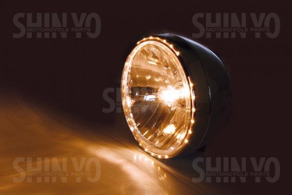 Scheinwerfer Reno 2 mit LED-Standlicht 7 Zoll