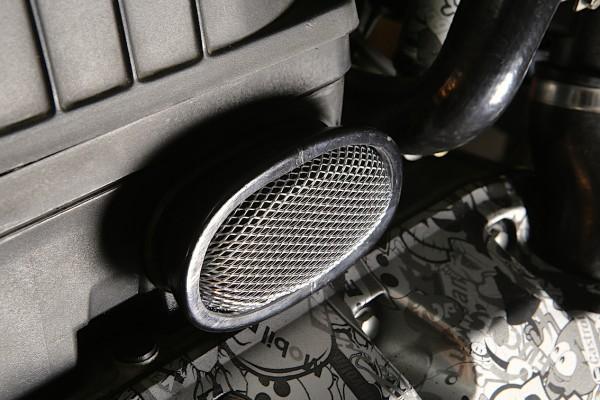 Ansaugstutzen Sport mit Alusieb für BMW K 75, K 100 und K 1100