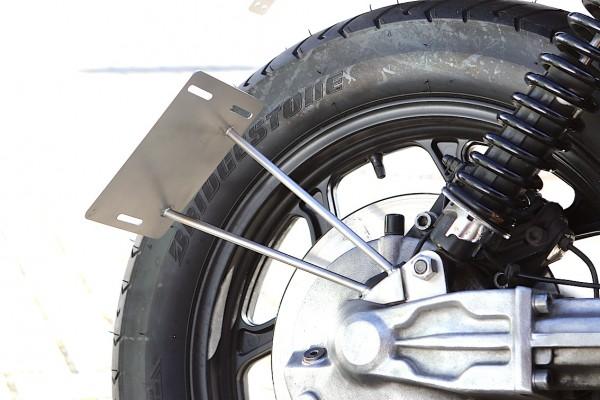 Kennzeichenträger »Side« für BMW K 75 und BMW K 100 - Modelle