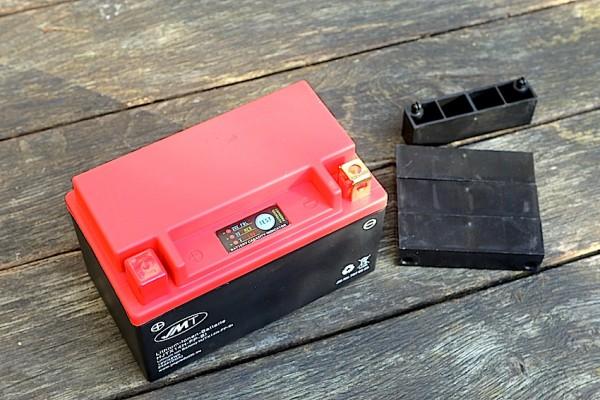 Batterie Lithium-Ionen 4 Ah für BMW K 75, K 100 und K 1100