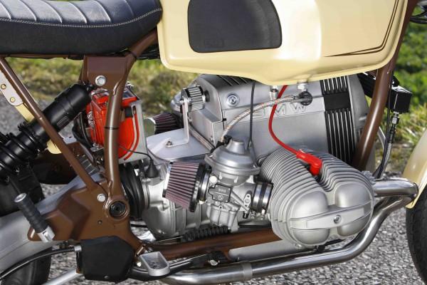 Halter Motorentlüftung für BMW Boxer