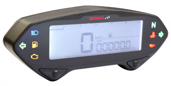 Tacho Koso DB 01 RN mit Drehzahlmesser
