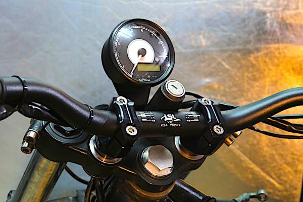 Tachohalter für Acewell-, Koso- und Daytona-Tachos passend für BMW K 75 und K 100