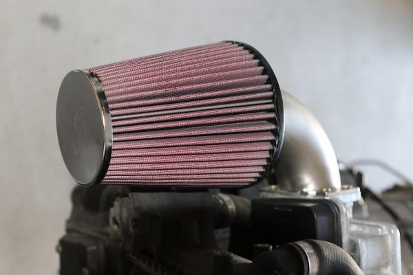 VA-Ansaugrohr für K 75/100 Modelle bei Umbau auf K&N-Sportluftfilter