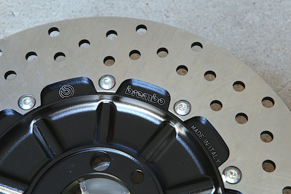 Bremsscheibe Brembo »Oro« gelocht für BMW K 75 und K 100-Modelle Vorderrad