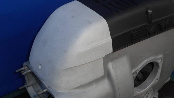 Luftfilter-Cover Aluguss für BMW 2V-Boxer