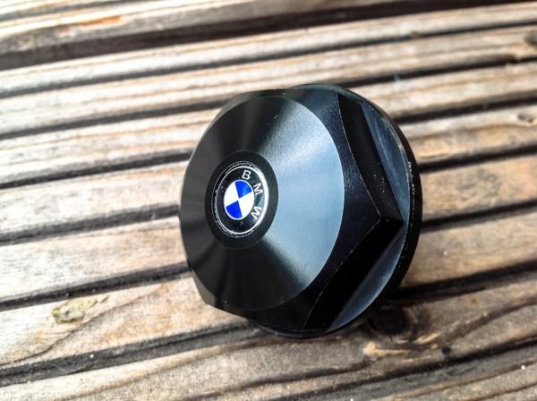 Hutmutter »Alu schwarz eloxiert« Gabelbrücke für BMW R 50 bis R 100